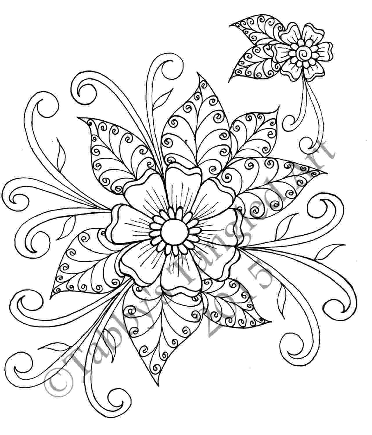 flower patterns coloring book coloring books for grown ups calvin was right flower patterns coloring book