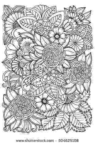 flower patterns coloring book flowers with paisley patterns coloring page free book patterns coloring flower