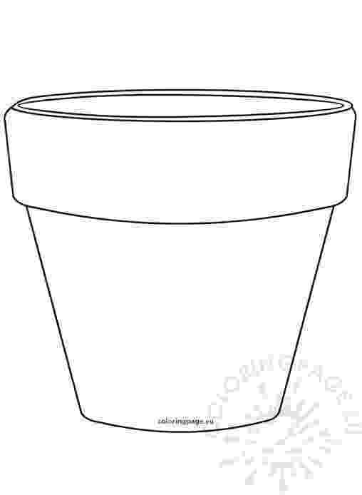flower pot coloring page printable flower pot coloring pages getcoloringpagescom coloring printable page pot flower