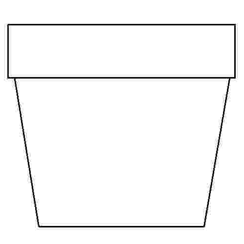 flower pot coloring page printable flower pot coloring pages getcoloringpagescom page pot coloring printable flower