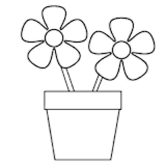 flower pot coloring page printable get crafty a flower coloring book plant pots coloring printable page coloring flower pot