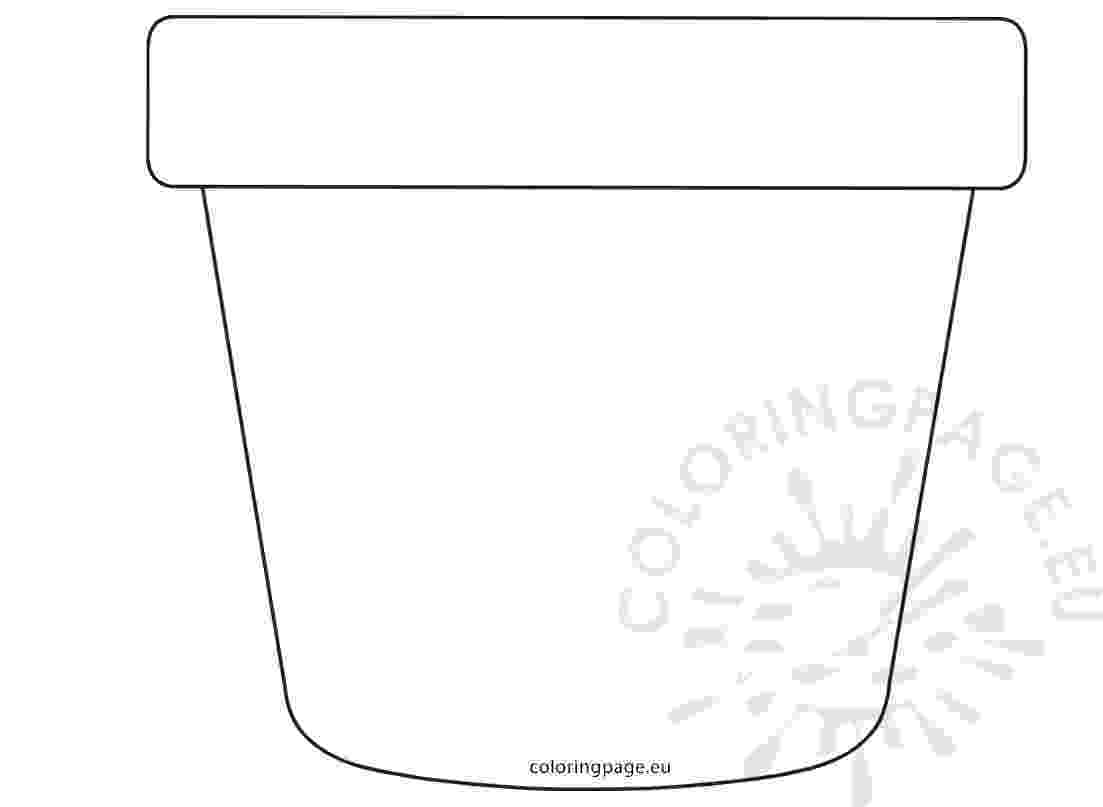 flower pot coloring page printable image result for flower pot coloring page flower pots page pot flower coloring printable