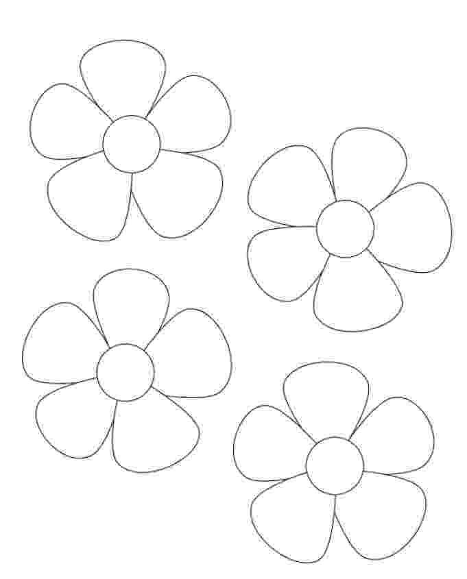 flower templates for coloring flower coloring pages template free coloring pages for kids coloring flower for templates