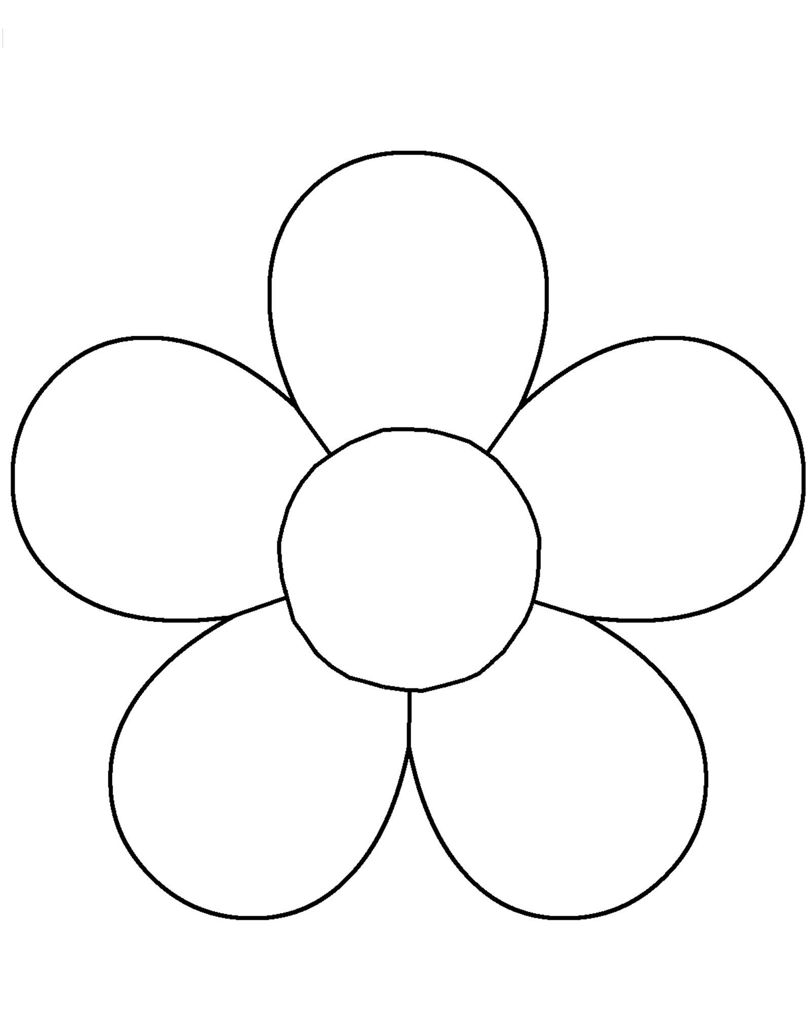 flower templates for coloring flower template for childrens activities flower flower templates for coloring