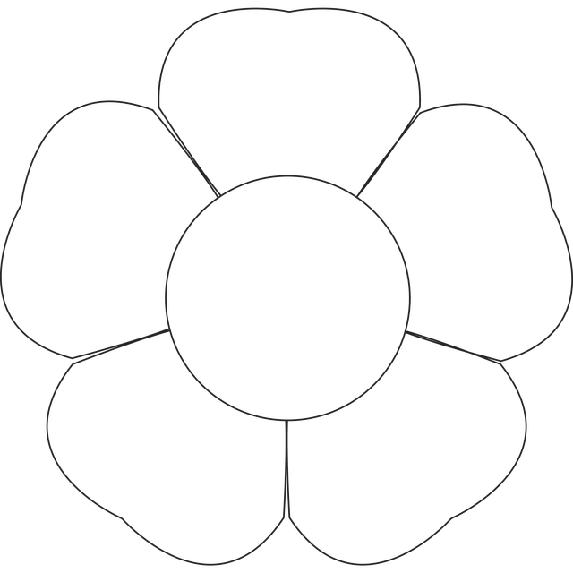 flower templates for coloring flower template printable clipartsco coloring flower for templates