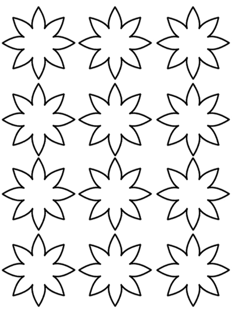flower templates for coloring flower templates for coloring templates flower coloring for