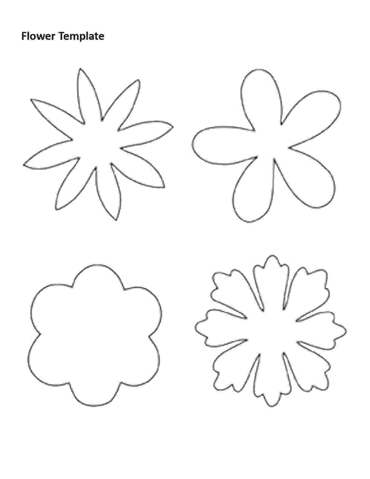 flower templates for coloring flowers free printable templates coloring pages coloring flower templates for
