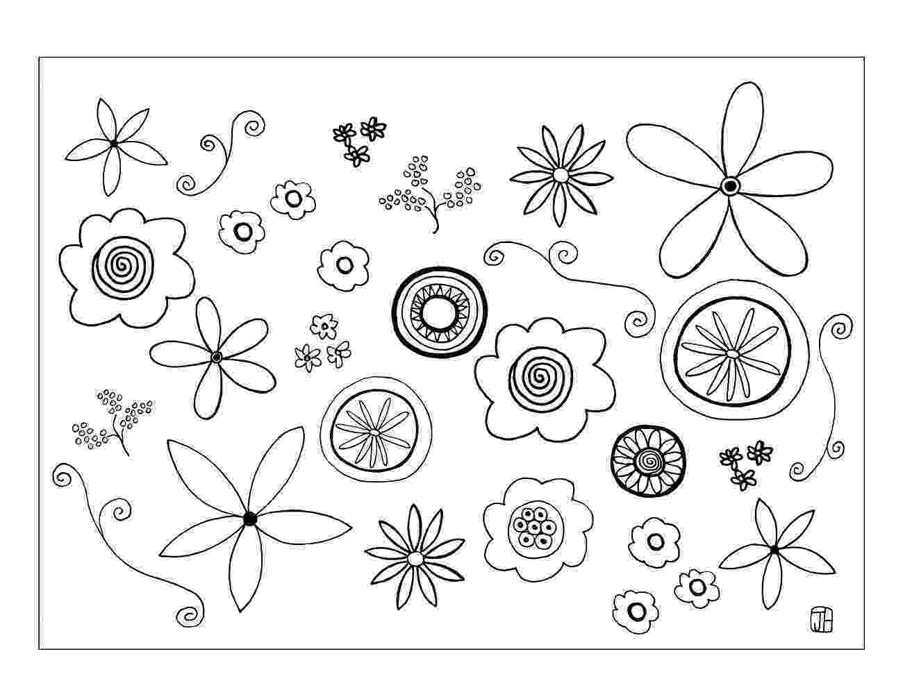 flower templates for coloring free printable flower coloring pages for kids best templates coloring for flower