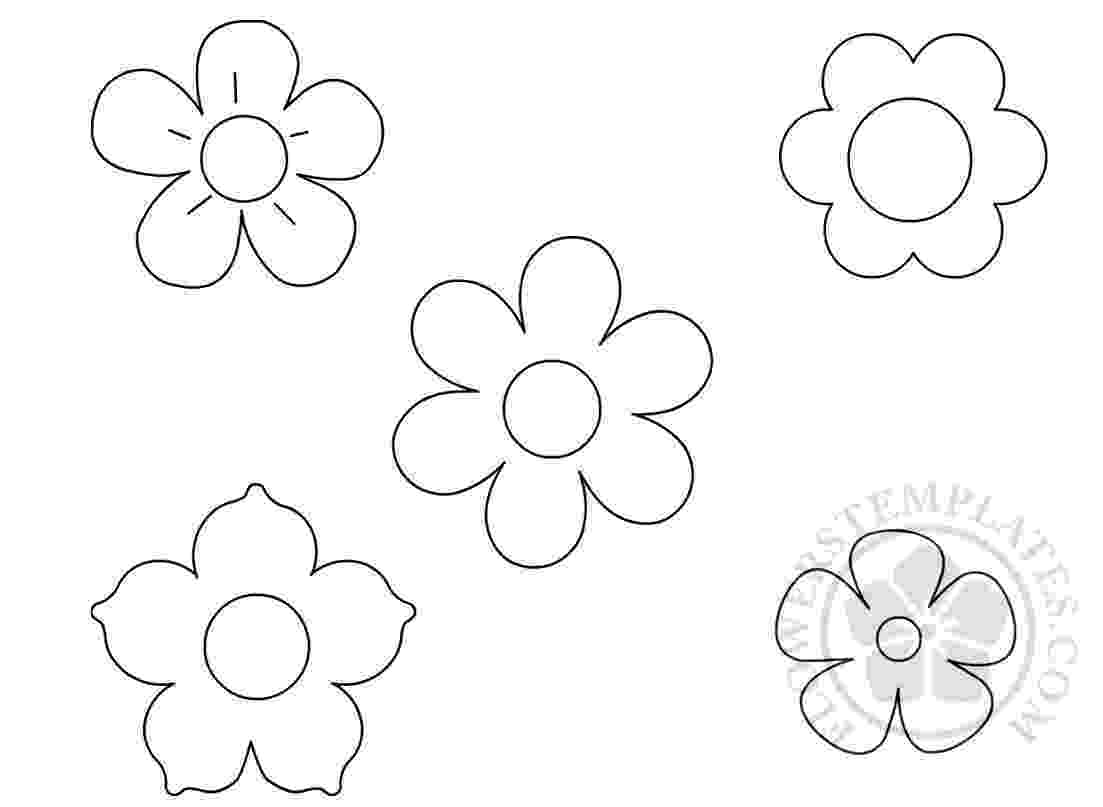 flower templates for coloring printable flower templates az coloring pages templates flower for coloring