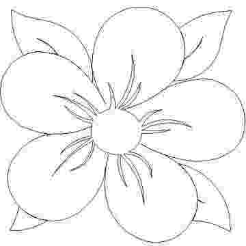 flower templates for coloring sun flower template clip art at clkercom vector clip for coloring flower templates