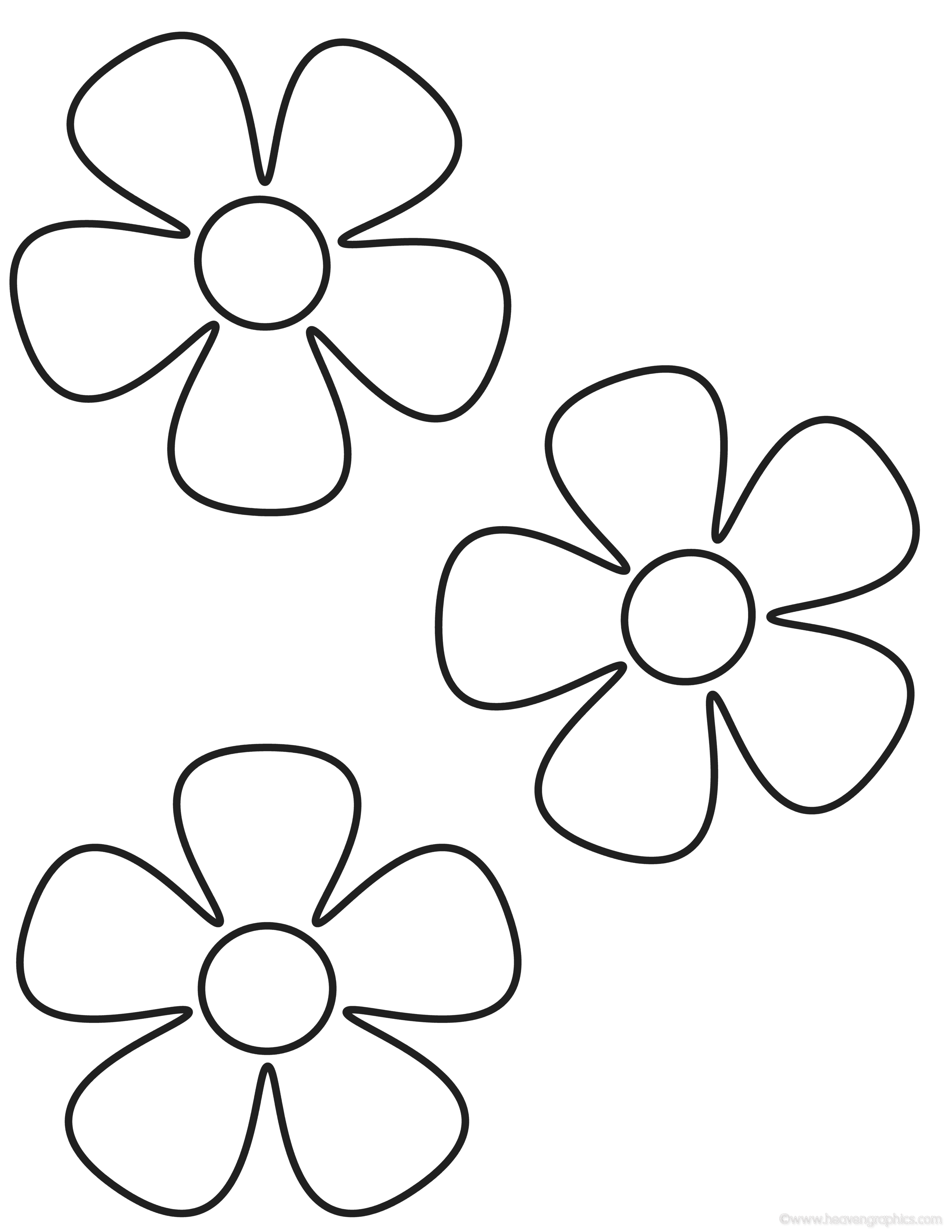 flower templates for coloring topic flower 5 petals edhelperclipart www2 server by coloring for flower templates