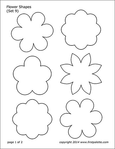 flower templates for coloring vase and flower template blank loving printable for templates flower coloring