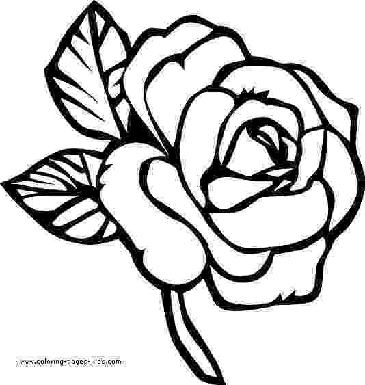 flowers to print and colour simple flower coloring pages getcoloringpagescom and print colour flowers to