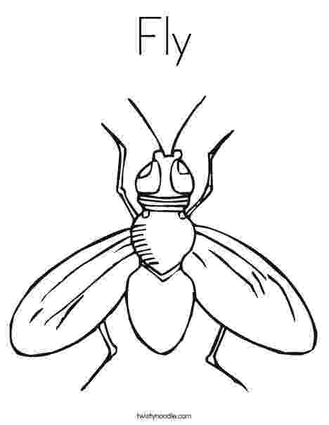 fly printable fly coloring pages coloring pages to download and print printable fly