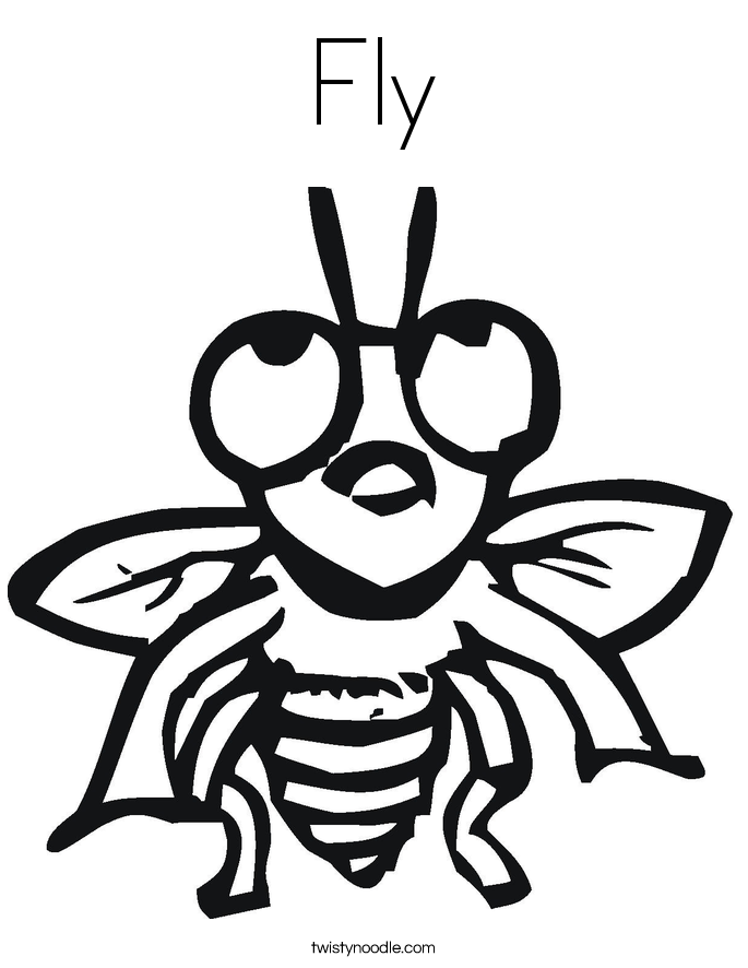 fly printable horse fly coloring page free printable coloring pages fly printable