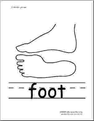 foot coloring page foot coloring pages coloring home coloring page foot