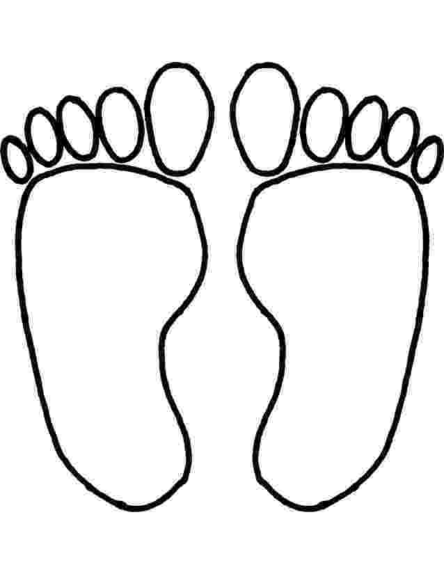 foot coloring page foot coloring pages coloring home page foot coloring