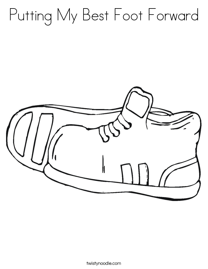 foot coloring page footprints coloring pages coloring home page coloring foot