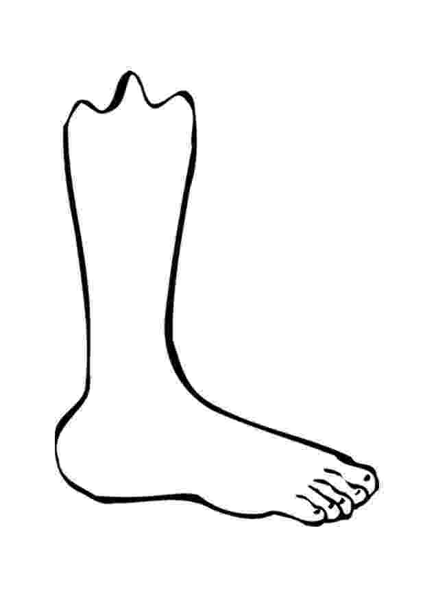 foot coloring page free foot coloring page download free clip art free clip page foot coloring