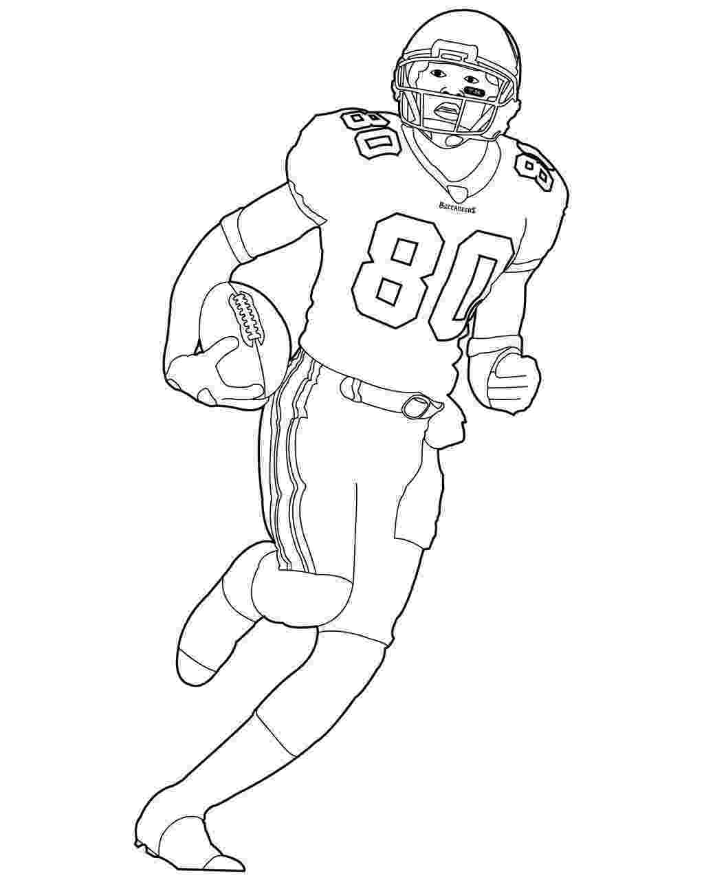 football coloring page football player coloring pages to download and print for free coloring football page