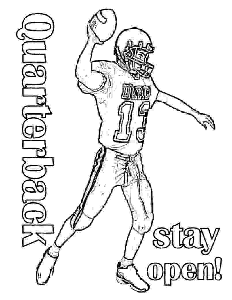 football colouring sheet printable football player coloring pages for kids cool2bkids colouring football sheet