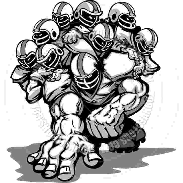 football player cartoon football lineman clipart google search football football player cartoon