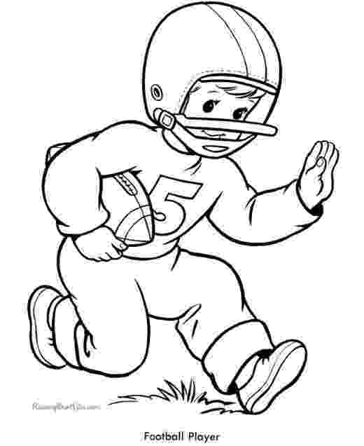 football player coloring sheet american football player coloring pages by football sheet coloring player
