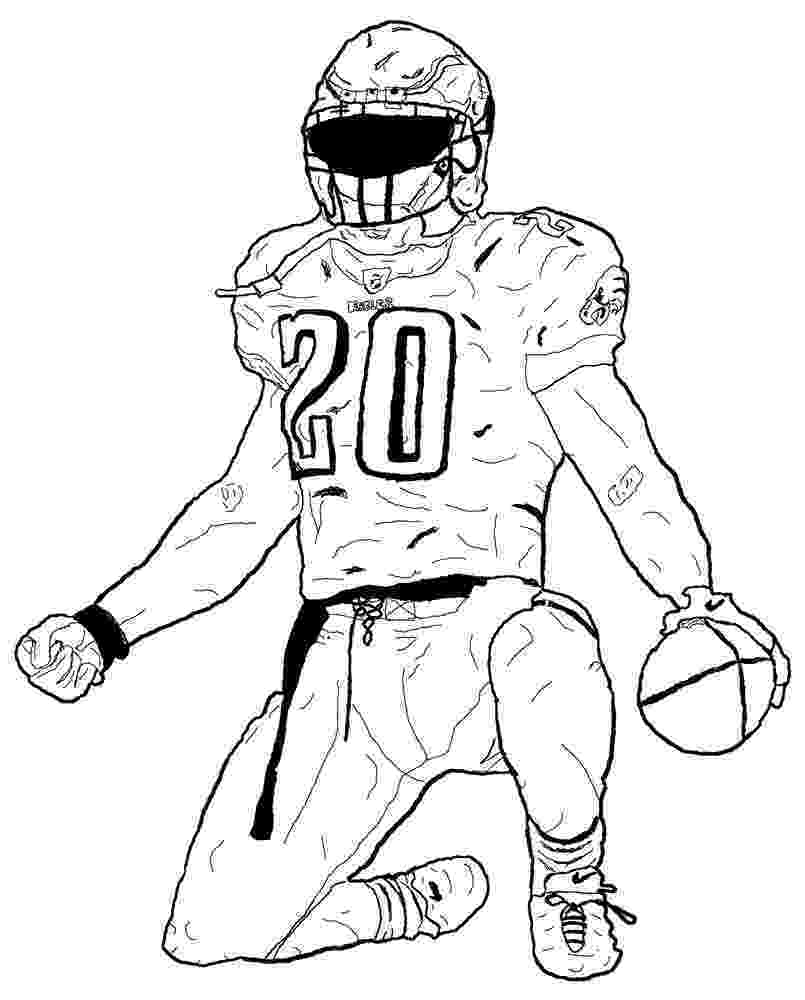 football player coloring sheet football player coloring pages to download and print for free coloring player sheet football