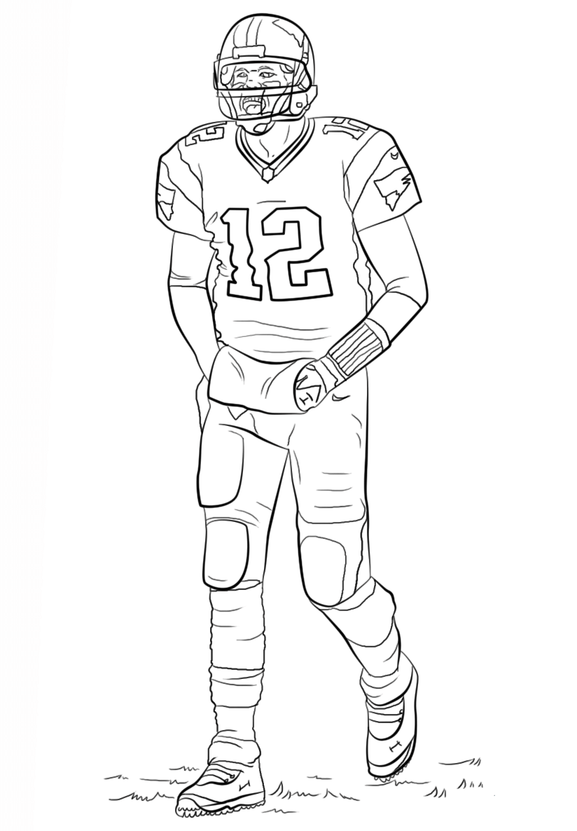 football player coloring sheet football player coloring pages to download and print for free football player coloring sheet