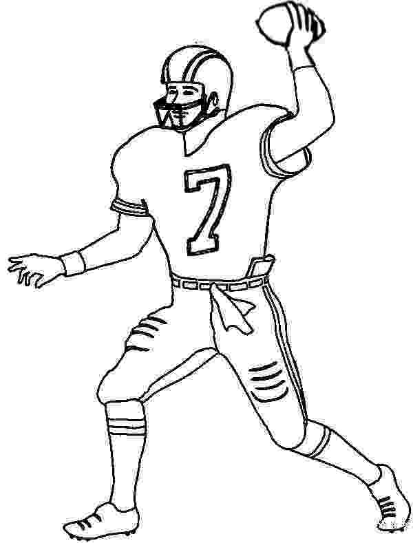 football player coloring sheet football player coloring pages to download and print for free football player sheet coloring