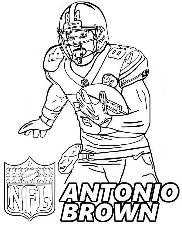 football player coloring sheet football player coloring pages to download and print for free sheet coloring player football
