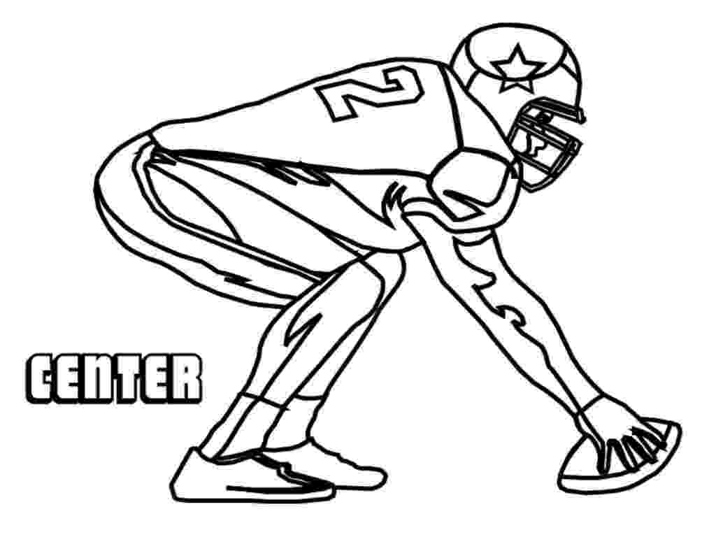 football player coloring sheet nfl football players drawing at getdrawingscom free for football player coloring sheet