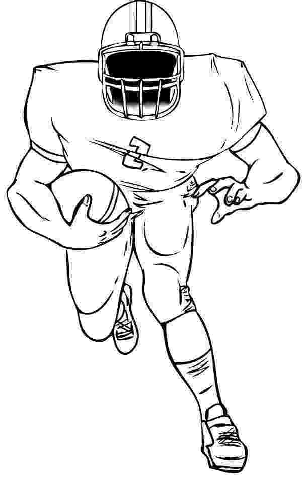 football player coloring sheet recreation coloring sheets janice39s daycare player football sheet coloring