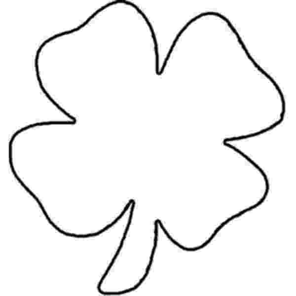 four leaf clover color page 4 leaf clover coloring page coloring home page four clover color leaf