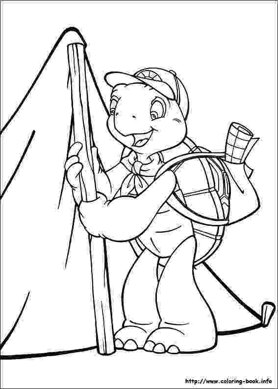 franklin coloring pages kids n funcom 36 coloring pages of franklin franklin coloring pages