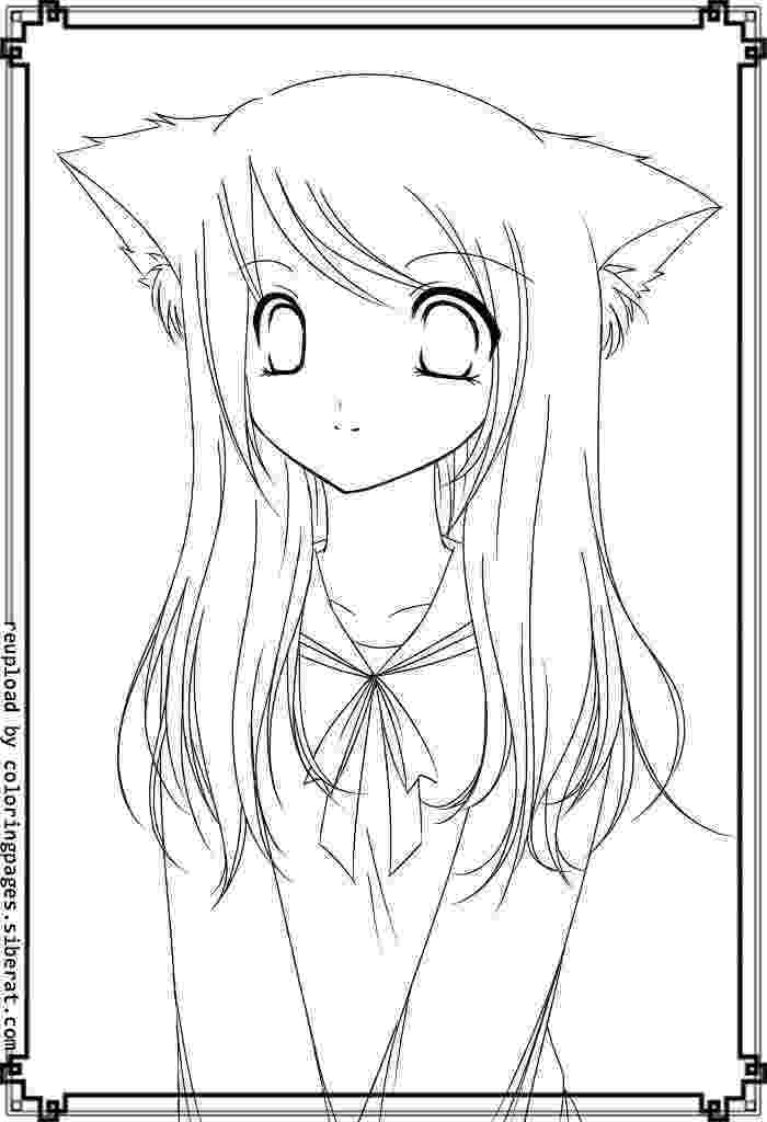 free anime coloring pages to print anime person looking up coloring pages pages print anime coloring free to