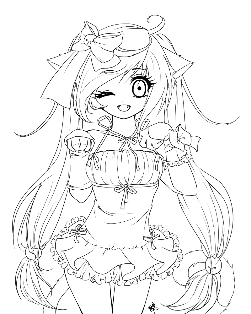 free anime coloring pages to print coloring pages for adults anime google search chibi free to anime pages print coloring