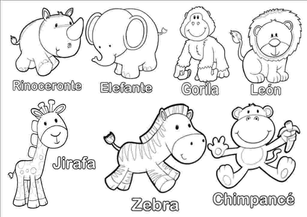 free baby animal coloring pages to print free printable farm animal coloring pages for kids coloring print to baby free pages animal