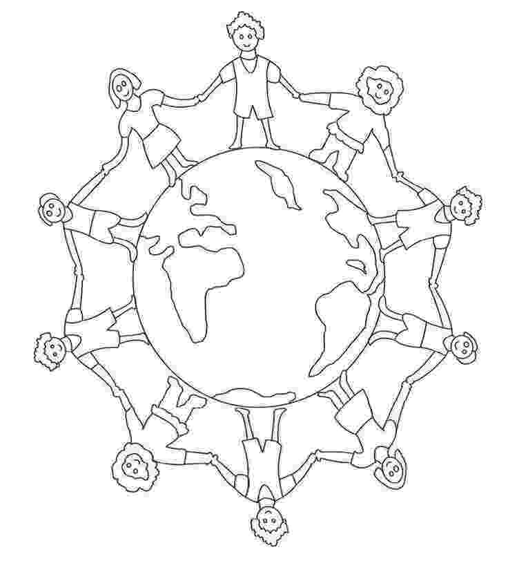 free color pages for christmas around the world earth population globe in world map coloring page world for around pages color christmas the world free