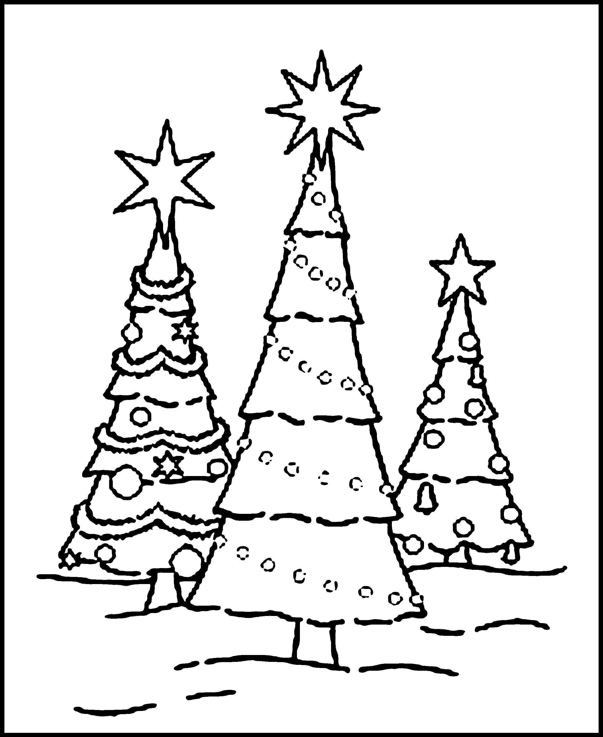 free coloring christmas pages free printable christmas tree coloring pages for kids free christmas pages coloring
