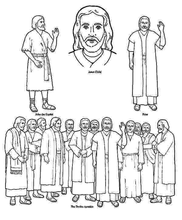 free coloring pages 12 apostles bible 12 disciples 12 apostles jo ann coloring pages coloring free pages apostles 12