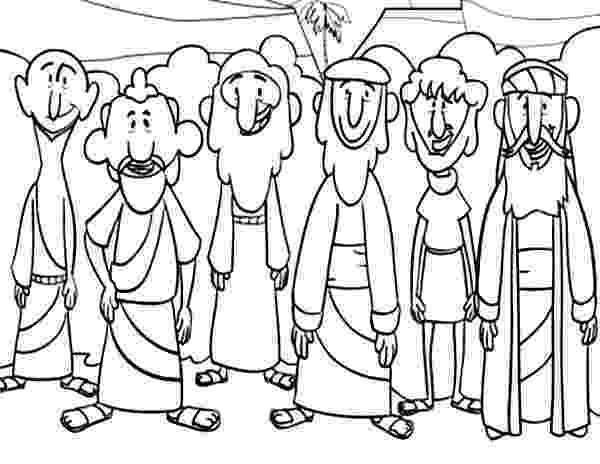 free coloring pages 12 apostles disciples jesus christ with 12 disciples last supper free coloring pages apostles 12