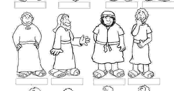 free coloring pages 12 apostles ldsflannelboardimages cmpbaker free apostles 12 pages coloring