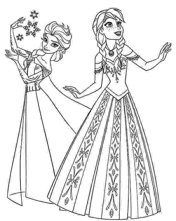free coloring pages elsa and anna frozen elsa anna coloring pages elsa and coloring free anna pages