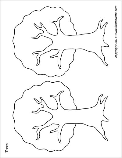 free coloring pages le tree free printable tree coloring pages for kids tree free le pages coloring