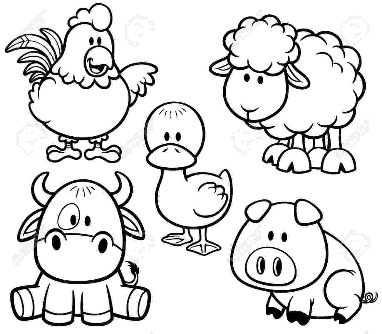free coloring pages of baby farm animals baby farm animal coloring pages only coloring pages coloring farm animals free baby of pages