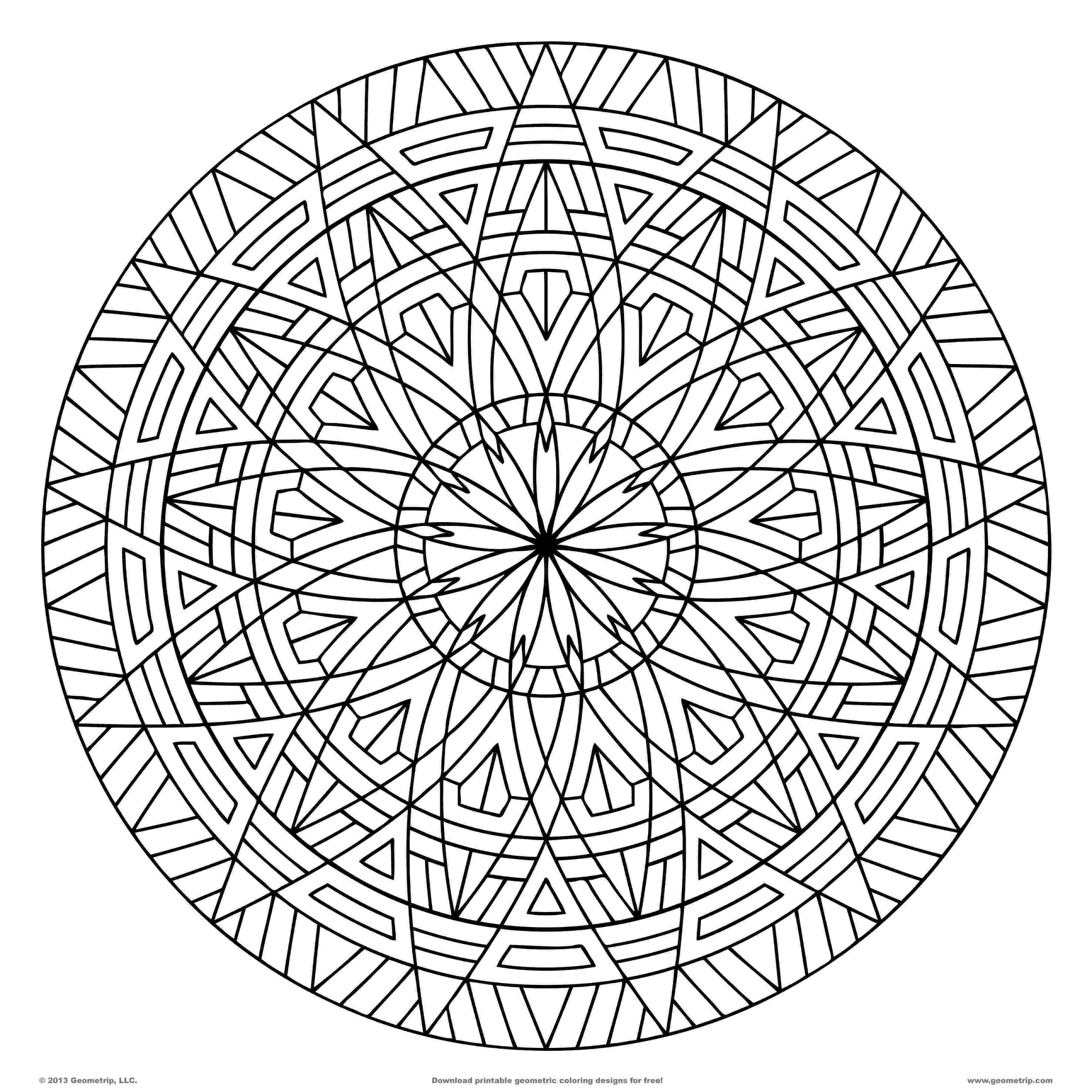 free coloring pages with designs free printable geometric coloring pages for adults pages with designs free coloring