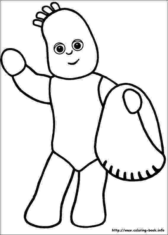 free colouring pages in the night garden 22 best in the night garden images on pinterest 2nd the garden night in pages colouring free