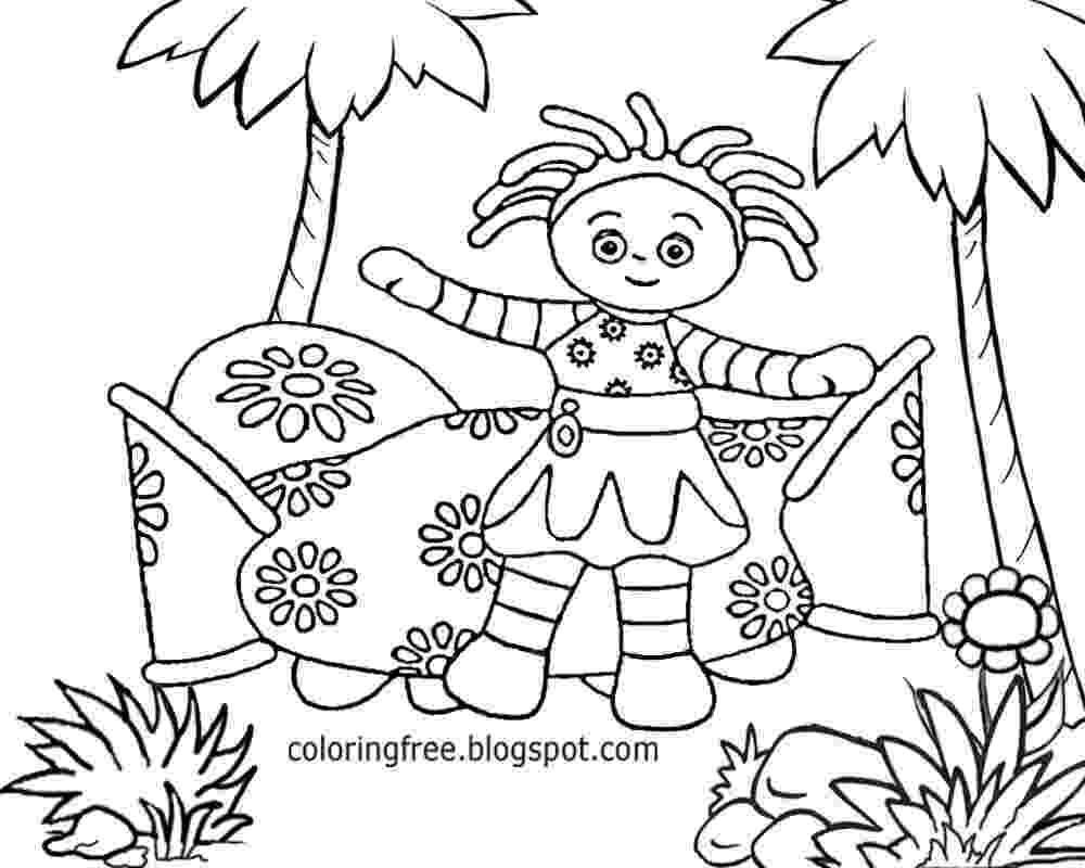 free colouring pages in the night garden free coloring pages printable pictures to color kids colouring in garden free pages the night