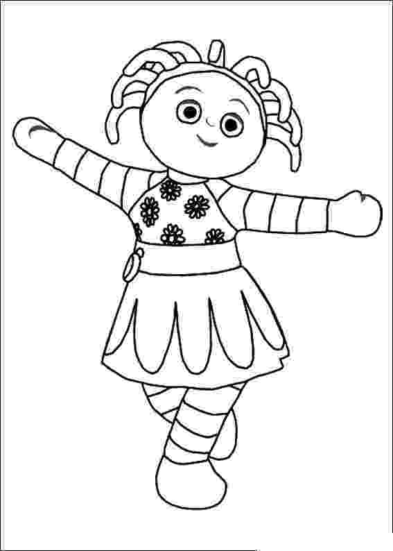 free colouring pages in the night garden in the night garden coloring pages11 coloring kids free in pages garden the colouring night